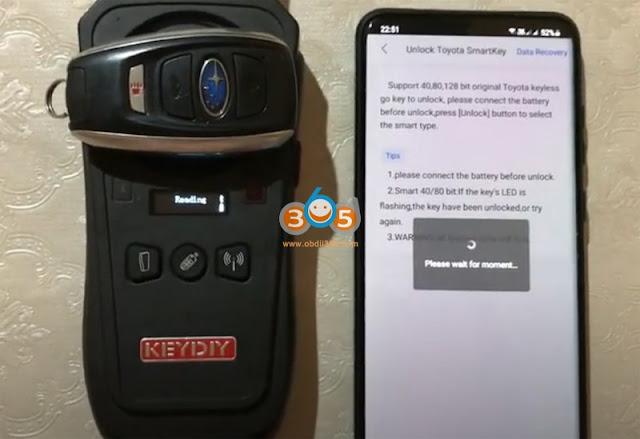 Keydiy KD-X2 Unlock Subaru Smart Key 10