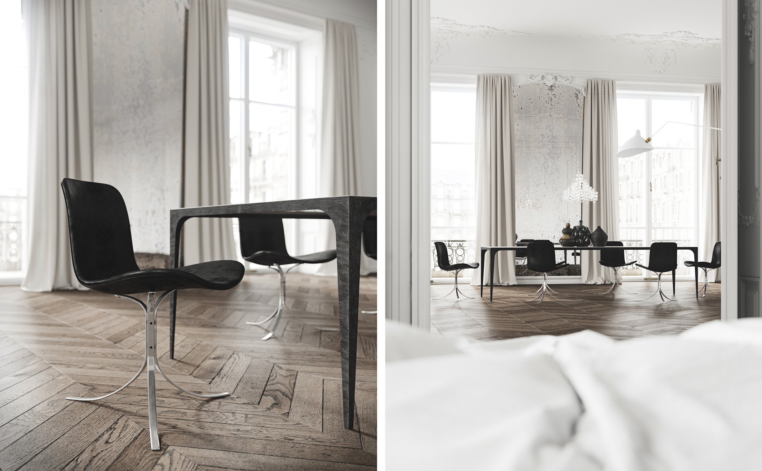 Décor: A Dream Classical Apartment by Jessica Vedel