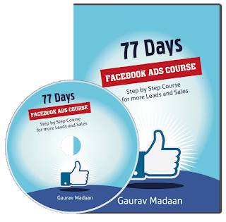 77 Days Facebook ad course By Grourav Madaan