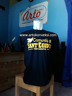 Terima Produksi Kaos & Polo Sablon / Tempat Bikin Kaos & Polo