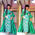 Creative Aso Ebi Gown Style For Ladies