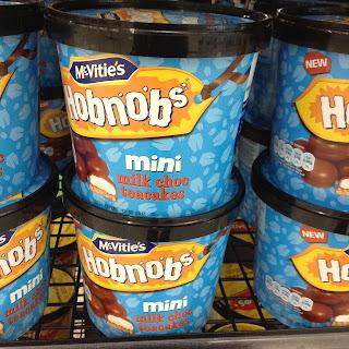 mcvitie's hobnobs mini milk choc teacakes