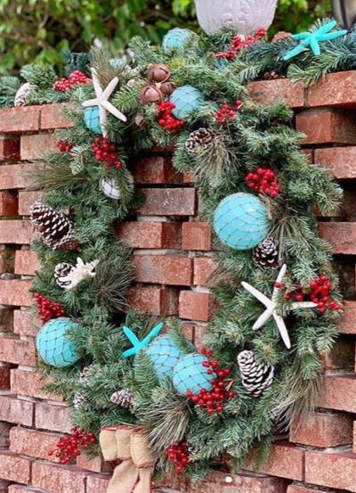 DIY Nautical Christmas Wreath