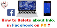 How to Delete About Information in Facebook?