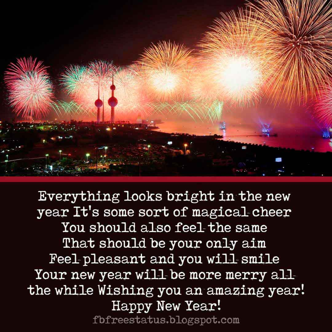 Happy New Year Greeting Cards Quotes and New Year Wishes Images.