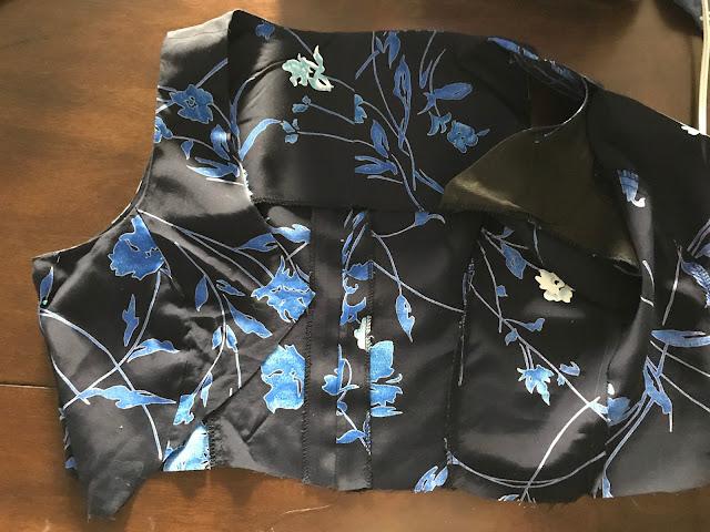 MAXI DRESS REFASHION UPCYCLE