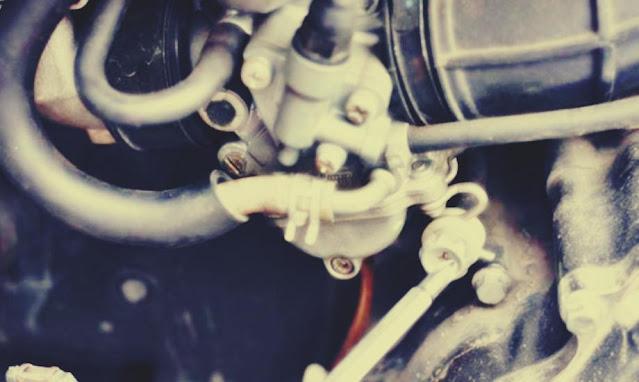 cara setting karburator motor agar irit