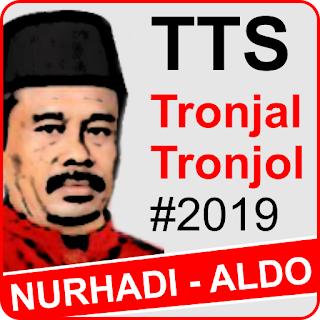 Game Kuis TTS Tronjal Tronjol Nurhadi Aldo Maha Asyik