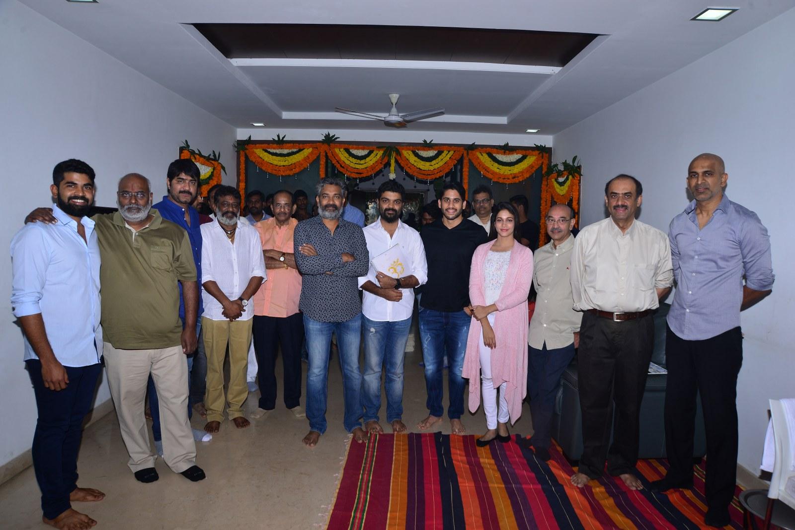 Chaitu Lavanya New Telugu movie Launch-HQ-Photo-2
