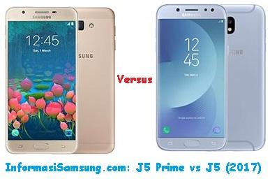 Perbedaan Samsung J5 Prime vs J5 (2017)