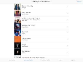 Retroblog: Spotify Sample Challenge: June