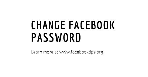 How Can I Change My Facebook Password in 2017 Easily?