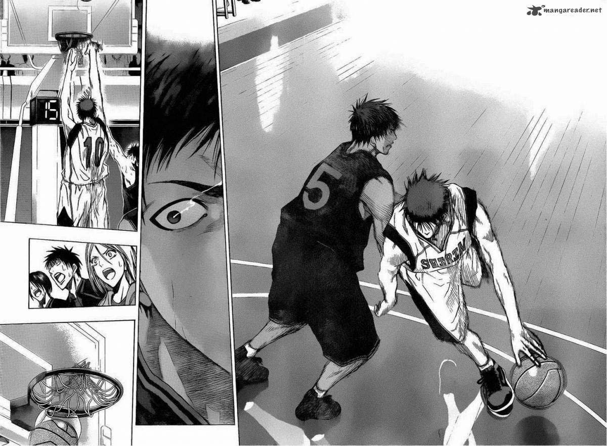 Kuroko No Basket chap 136 trang 9