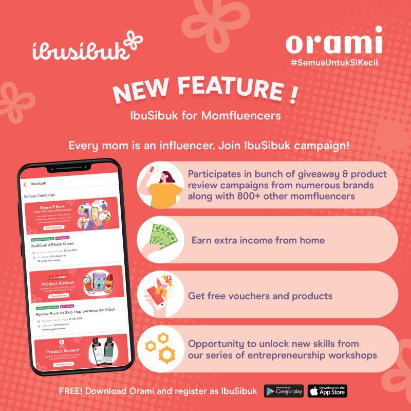 Bagaimana cara ikut campaign di Ibusibuk Influencer dari Orami?
