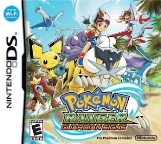 Pokemon Ranger: Guardian Signs, NDS, Español, Mega, Mediafire