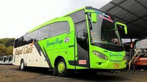 Gambar Bus ke Pangandaran
