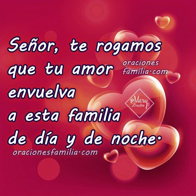 Oración para la noche en familia, orar juntos como familia antes de dormir, buenas noches con oraciones cortas por Mery Bracho.