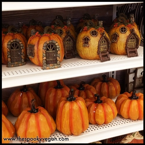 fairy pumpkin houses - Michaels Halloween