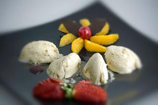 Sufle helado al grand Marnier