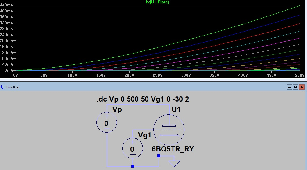 Radio Theory and design: spice models valve, tube, jfet with