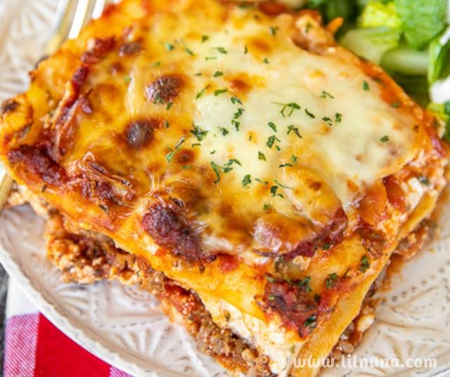 Million Dollar Lasagna