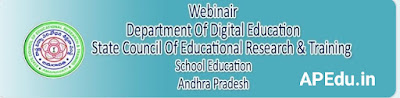 Teachers can register through this form to participate the webinar being conducted by SCERT Andhra Pradesh.