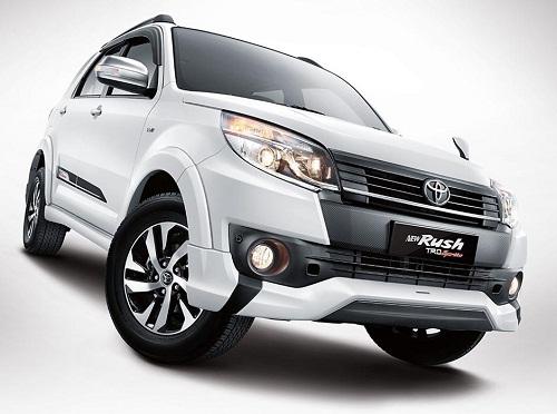 Harga Dan Spesifikasi Mobil Toyota Rush Terbaru 2016