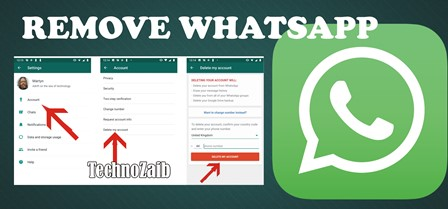 If you are completely done with WhatsApp, you can delete your account