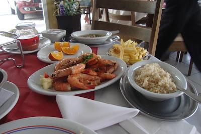 Almoço na Barra Sul - Balneário Camboriú - SC