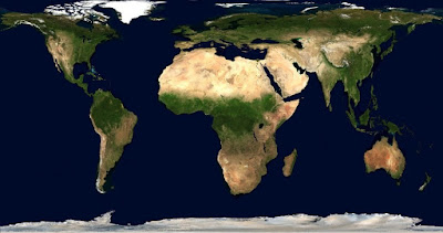 خريطة العالم تخدعك