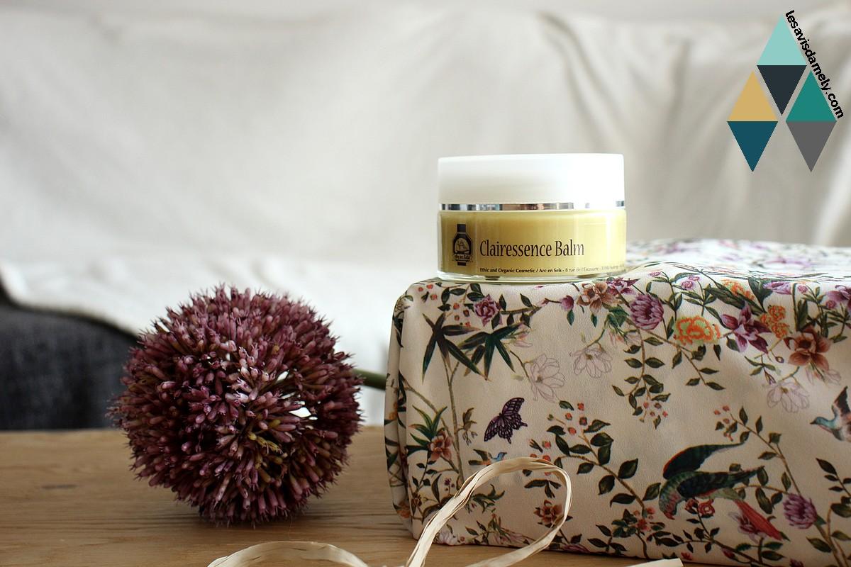 baume clairessence arc en sels la vie naturelle cosmétique bio