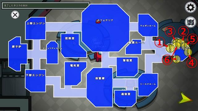 ナビゲーション(Navigation)のタスクマップ説明画像