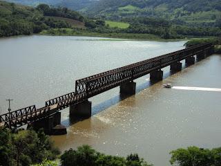 Ponte Rodo-ferroviária, Marcelino Ramos