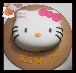 Angel S Kitchen Denpasar Hello Kitty Cake