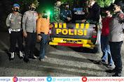 Polsek Cendana Bersama Petugas Gabungan Kembali Melaksanakan Patroli Malam