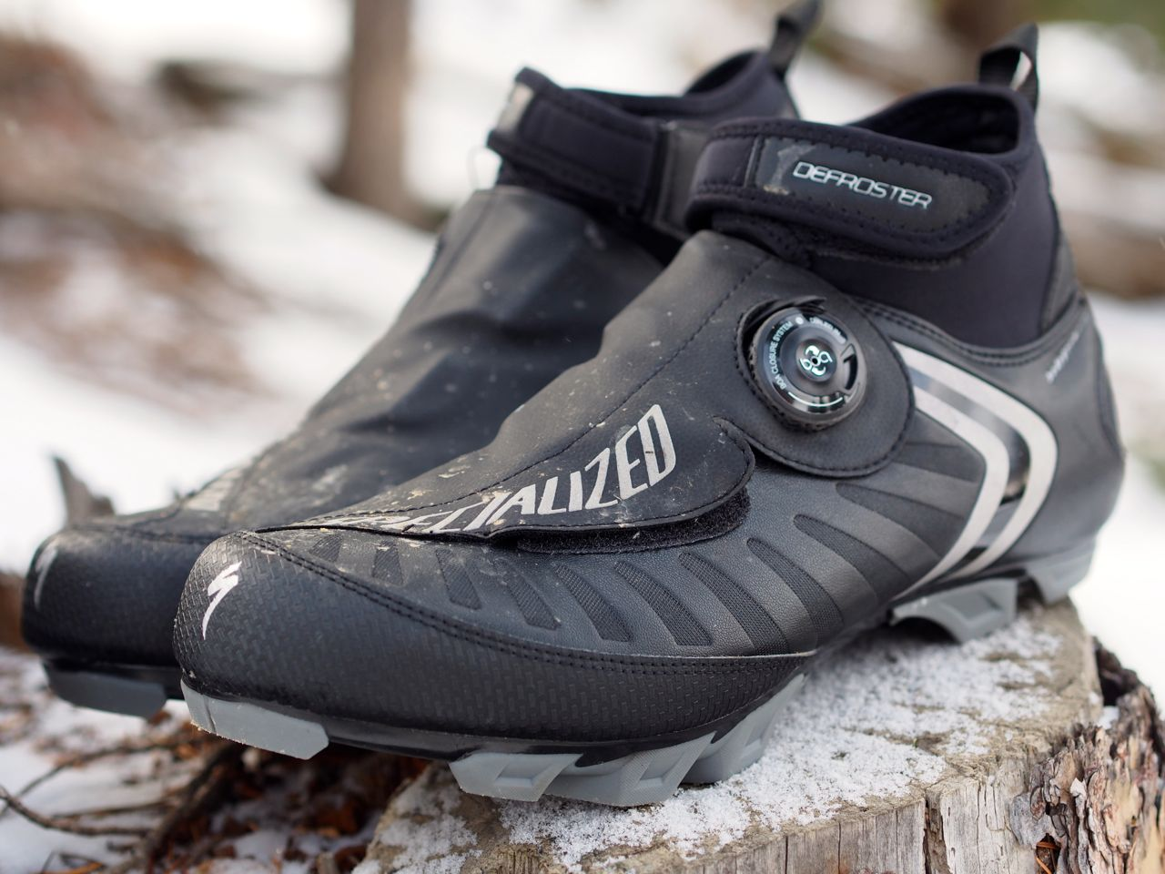 Review Specialized Defroster Winter Mountain Bike Shoe