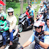 Prabowo Naik Ojek, Hadiri Kopdar Ojol di Sirkuit Internasional Sentul