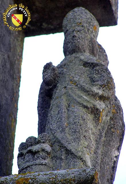 Saint-Nicolas (XVIIIe siècle) - Croix-calvaire de Crézilles (54)