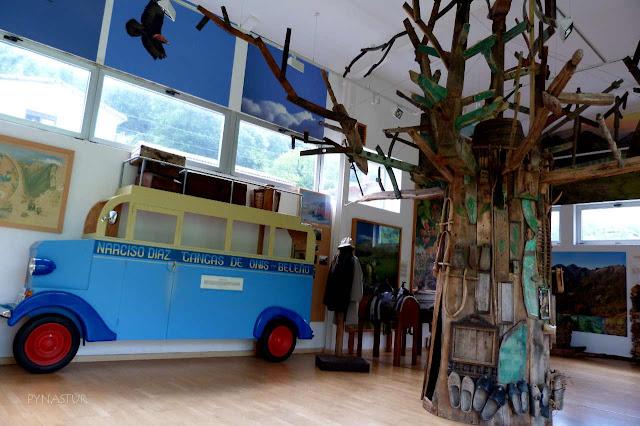 Centro de Interpretación del Parque Natural de Ponga - Asturias