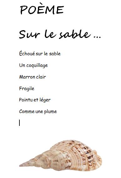 Blog De Français Créer Un Poème
