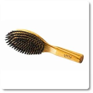 Shash Everyday Boar Bristle Hair Brush, Firm