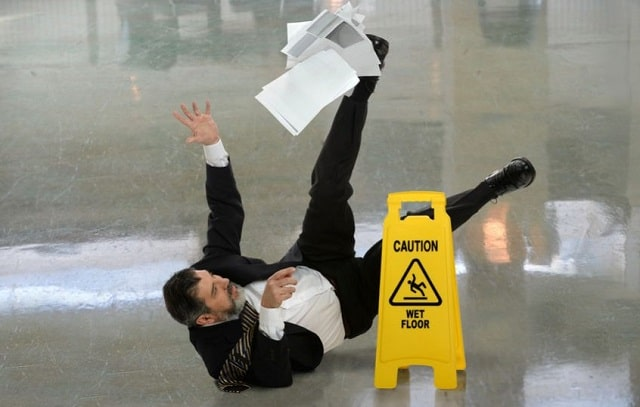 office premises liability slip and fall accident lawsuit workplace injury lawyer