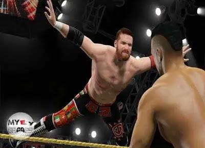 من داخل لعبة المصارعة WWE 2K15 للكمبيوتر من ميديا فاير