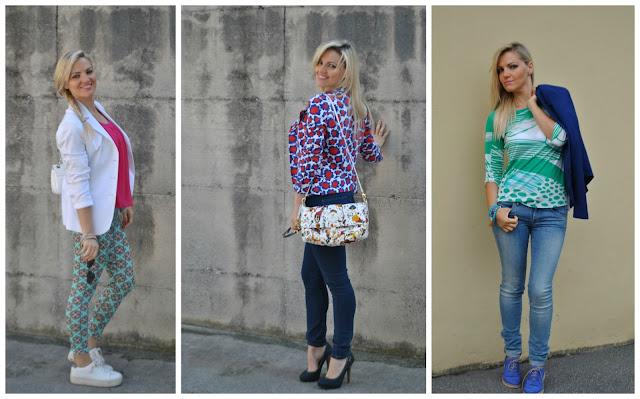 come abbinare il blazer abbinamenti blazer outfit primaverili outfit maggio 2016 mariafelicia magno fashion blogger blogger italiane