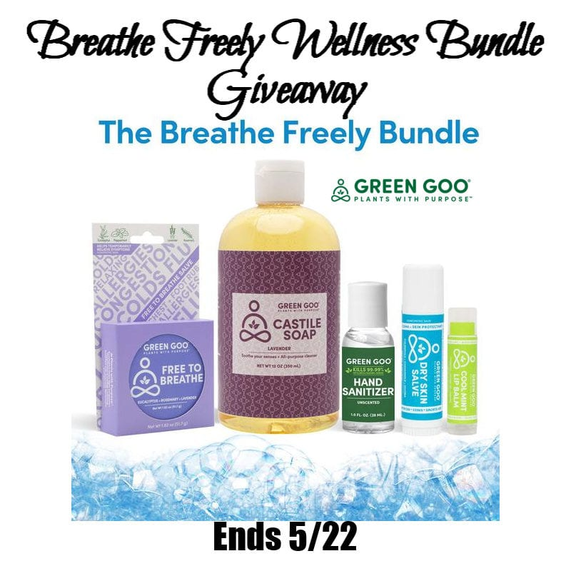 Breathe Freely Wellness Bundle Giveaway