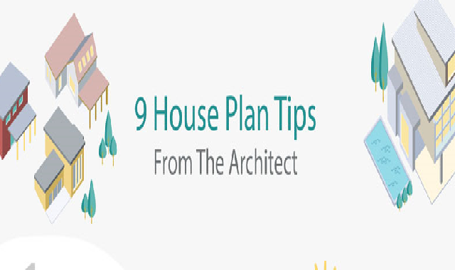 9 House Plan Tips From The Architect #infographic