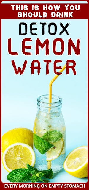 How To Properly Drink Lemon Detox Water