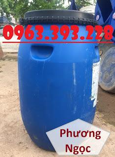 Thùng phuy nhựa nắp mở, thùng phuy đựng thực phẩm, thùng phuy đựng hóa chất 6753feb3e9720b2c5263