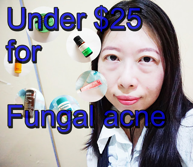 USD25 fungal acne skincare products