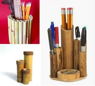 kerajinan tangan bambu